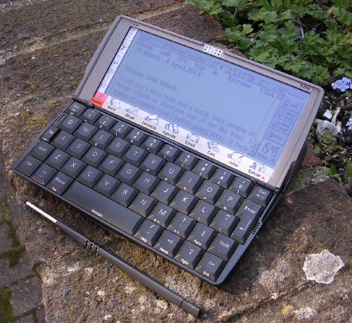 psion 5mx open