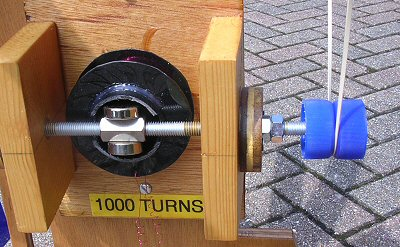 bottle top pulley