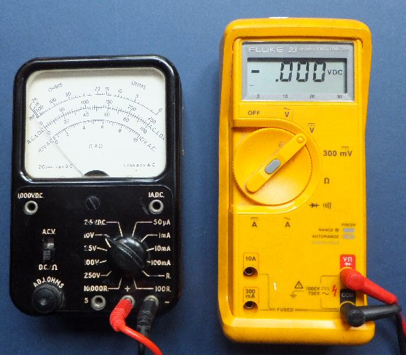 GPO and Fluke meter