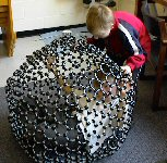 oli and sam and a fullerene